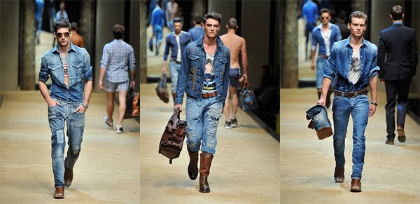 Fashion gatecrasher - Comment porter une veste en jean homme ...